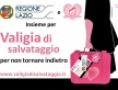 """""""Valigia di Salvataggio"""" il progetto approda all'Anci Lazio. 50 valigie per i comuni del Lazio"""