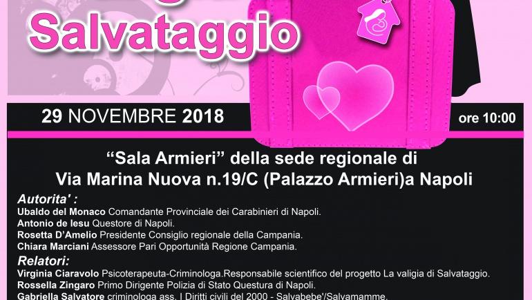 La Valigia di Salvataggio approda in Campania!